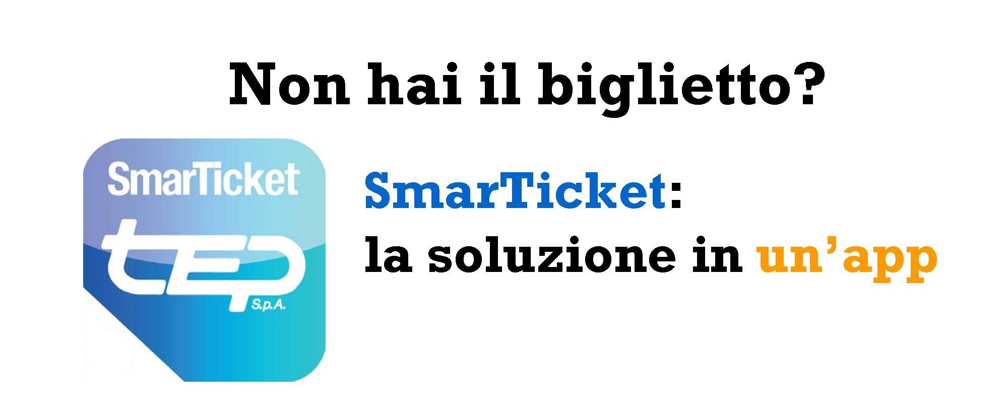 Non hai il biglietto? SmartTicket! La soluzione in un'app